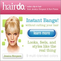 Hairdo Clip-in Bangs