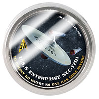 2016 50th Anniversary Star Trek Half Dollar Coins