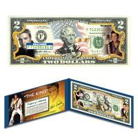 Elvis $2 Bill