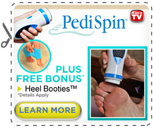 Pedi spin As seen On TV
