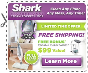 Sharp Steam Mop As Seen On TV