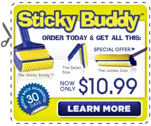 sticky brush as seen on tv